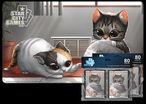 Комплект (Коврик + Протекторы): Kitten - фото 30007