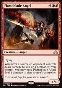 Flameblade Angel FOIL - фото 30082