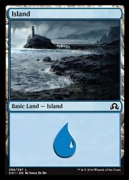 Island (#286) FOIL - фото 30110
