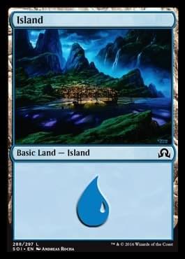 Island (#288) FOIL - фото 30114