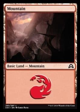 Mountain (#293) FOIL - фото 30124