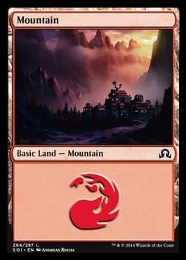 Mountain (#294) FOIL - фото 30126