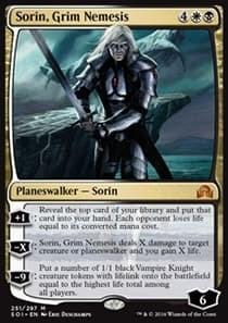 Sorin, Grim Nemesis FOIL - фото 30164