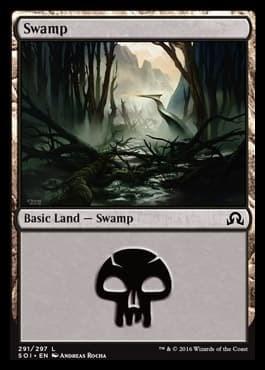 Swamp (#291) FOIL - фото 30172