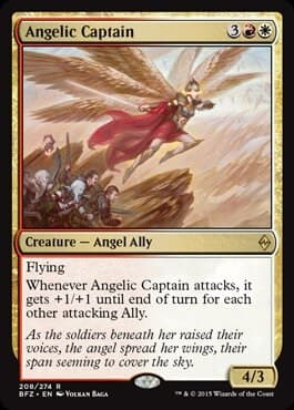 Angelic Captain FOIL - фото 30459