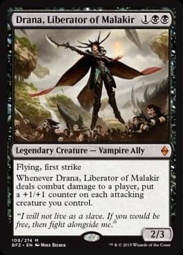 Drana, Liberator of Malakir FOIL - фото 30485