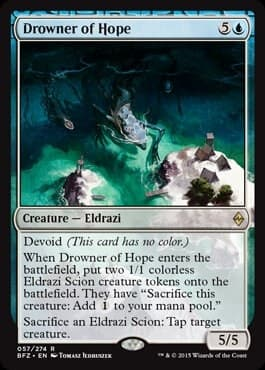 Drowner of Hope FOIL - фото 30487