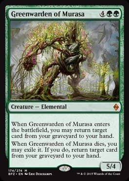 Greenwarden of Murasa FOIL - фото 30505