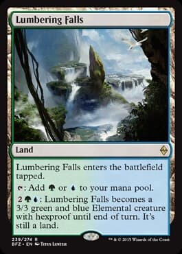 Lumbering Falls FOIL - фото 30519