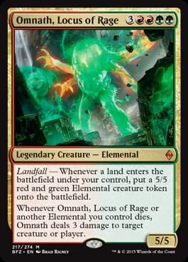 Omnath, Locus of Rage - фото 30532