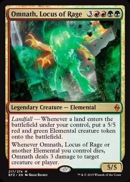 Omnath, Locus of Rage FOIL - фото 30533