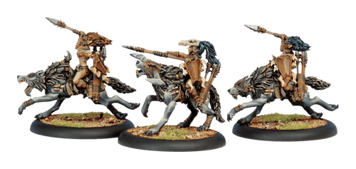 Circle Orboros Tharn Wolf Riders BOX - фото 30751