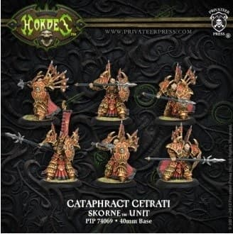 Skorne Cataphract Cetrati Unit BOX* - фото 30767