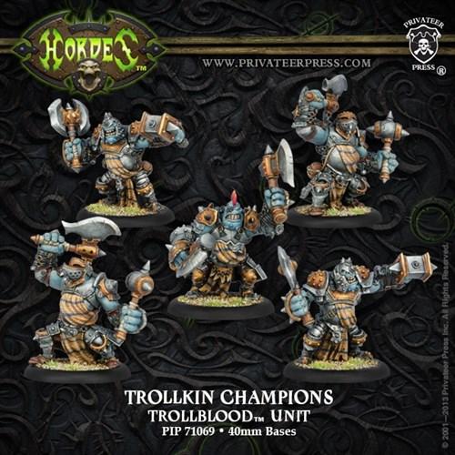Trollblood Trollkin Champions Unit BOX* - фото 30777