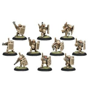 Mercenary Hammerfall High Shield Gun BOX - фото 30796