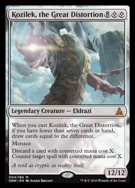 Kozilek, the Great Distortion FOIL - фото 30924
