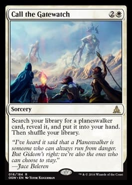 Call the Gatewatch FOIL - фото 31073
