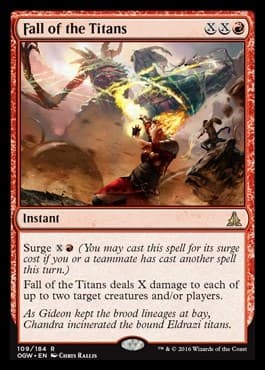Fall of the Titans FOIL - фото 31082