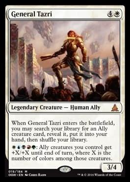 General Tazri FOIL - фото 31083