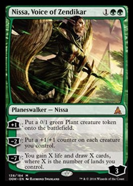 Nissa, Voice of Zendikar FOIL - фото 31092