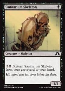 Скелет из Лечебницы (Sanitarium Skeleton ) FOIL - фото 31169