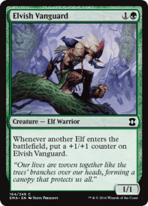 Elvish Vanguard Foil - фото 31360