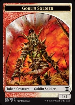 Goblin Soldier Token Foil - фото 31407