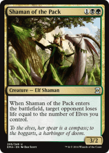 Shaman of the Pack Foil - фото 31577