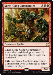 Siege-Gang Commander Foil - фото 31585