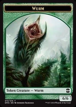 Wurm Token Foil - фото 31693