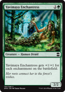 Yavimaya Enchantress Foil - фото 31697