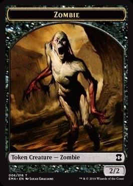 Zombie Token Foil - фото 31703