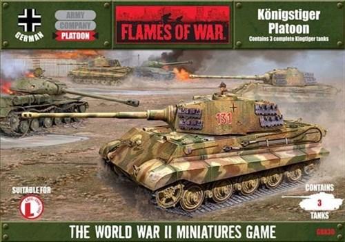 Koenigstiger platoon (dice & tokens included - фото 32017