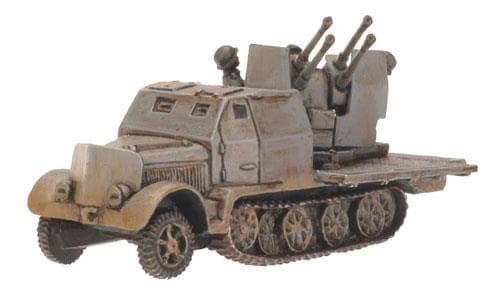 SdKfz 7/1 Armoured (Quad 2cm) - фото 32073