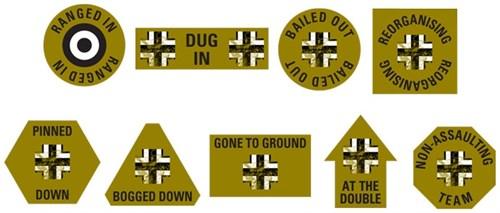 Battle Hardened Panzer Objective Set - фото 32197