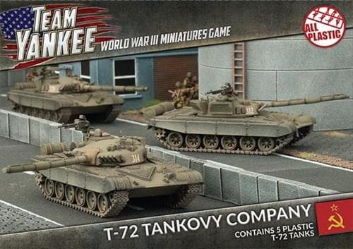 T-72 Tankovy Company (Plastic) - фото 32199