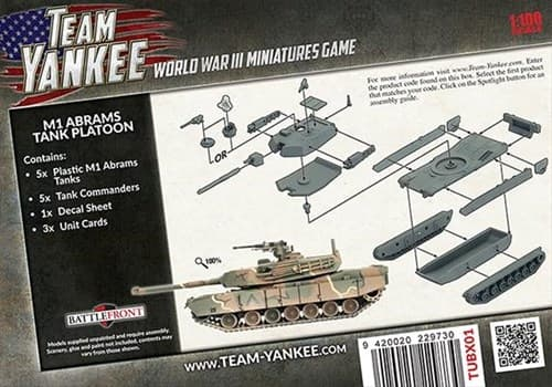 M1 Abrams Tank Platoon (Plastic) - фото 32210