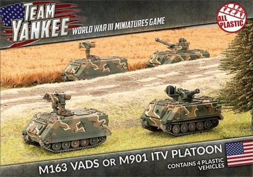 M163 VADS or M901 ITV Platoon (Plastic) - фото 32212