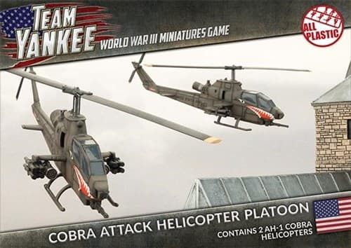Cobra Attack Helicopter Platoon (Plastic) - фото 32218
