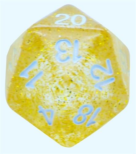 Кубик D20 «Блеск» - фото 32259