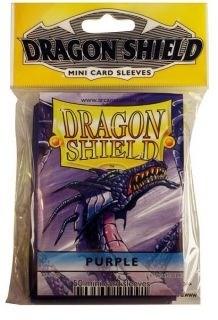 """Протекторы Мини """"Dragon Shield"""" (разноцветные, 50 шт.): фиолетовые АТ-10109 - фото 32433"""