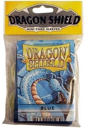 """ПРОТЕКТОРЫ МИНИ """"DRAGON SHIELD"""" (РАЗНОЦВЕТНЫЕ, 50 ШТ.): СИНИЕ АТ-10103"""