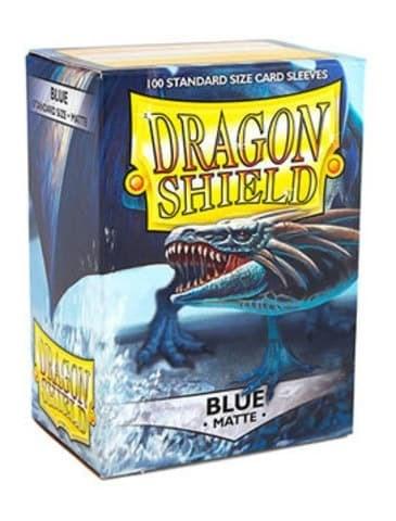 Dragon Shield - Протекторы матовые синие 100 штук - фото 32579