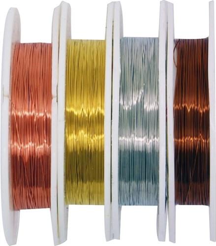 Проволка медная 0,3 мм, 10 метров (цвет черная) - фото 32708