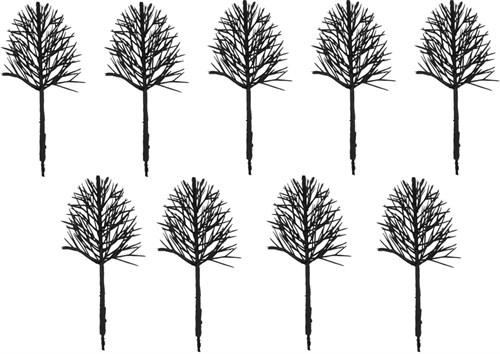 Каркас Дерева Овальный 130 Мм (9 Штук) Пластик - фото 32719