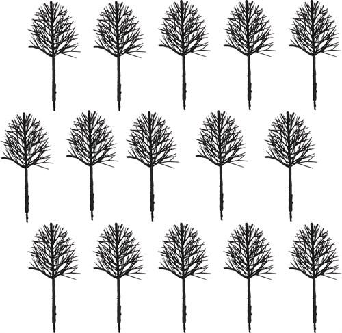 Каркас дерева овальный 60 мм (15 штук) пластик - фото 32723