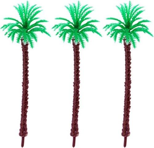 Королевская пальма 130 мм (3 штуки) пластик - фото 32727