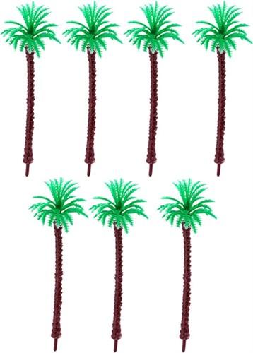 Королевская пальма 70 мм (7 штук) пластик - фото 32728