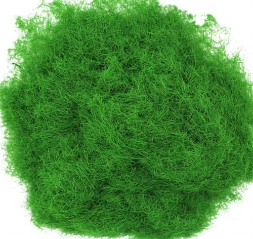 Трава зеленая темная лесная 3 мм - фото 32730