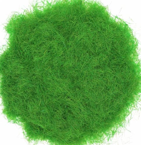 Трава зеленая выгоревшая 2 мм - фото 32731